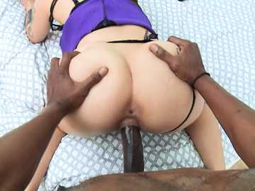 Katrina Jade loves deep and hardcore doggy-style pounding