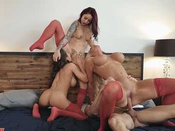 Madison Ivy, Monique Alexander and Nicolette Shea in 1 800 Phone Sex: Line 8