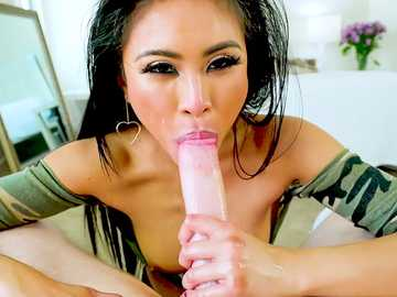 Ember Snow: Glam Asian's Thick Cream Of Semen Soup
